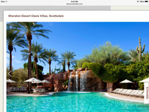 SHERATON DESERT OASIS RESORT NORTH SCOTTSDALE AZ
