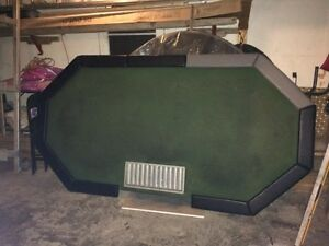 One poker table and one crabs table  Stratford Kitchener Area image 3