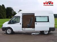 2013 FORD Transit T350 125ps Long Wheel Base 9 Seat Crew Van High Roof DIESEL MA