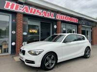 2014 64 BMW 1 SERIES 2.0 116D SPORT 3D 114 BHP £30 YEAR TAX 1 FORMER KEEPER