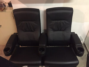 Pair of Home Theatre Chairs