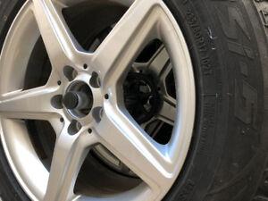 235 60 17 Tires on Aluminum Rim!!!