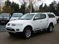 2012Mitsubishi L200 2.5DI-D LB Double Cab Pickup Warrior No VAT ( 74000 Miles )