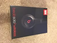 Beats solo2 wireless black unopened