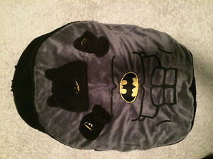 Batman Bunting Bag with Hat and mits