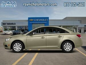 2014 Chevrolet Cruze LT  - Certified - $97.69 B/W - Low Mileage