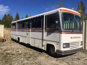 BC REGISTERED 35 ft CLASS A MOTOR HOME By John Deere