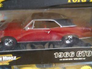 1966 GTO ertl 1:18 Diecast