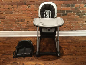 Graco Blossom High Chair & Toddler Booster $100