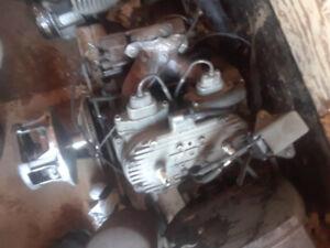 Arctic Cat F7 engine