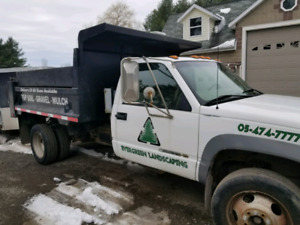 1999 chevrolet 3500 HD Diesel Duelly Dump