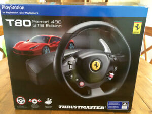 PS4 Sony Playstation 4 volant Thrustmaster T80