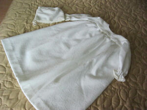 Christening or Baptist outfit with bonnet
