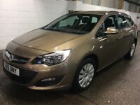 LOOOK!!! 2013 Vauxhall Astra 1.6 Exclusiv 16V Automatic ** Super Low Mileage 13K From New **