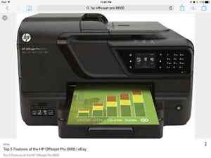 HP OFFICEJET PRINTER 8600 all in one