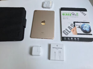 iPad Mini 4 - 32GB - GOLD - ONLY 1 Month OLD - FLAWLESS 10/10!