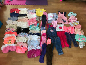 6-12 month girls summer clothing