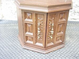 Octaganel End Table