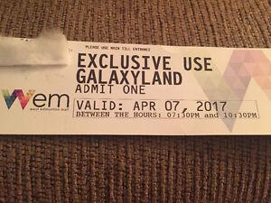 galaxyland wem ticket