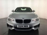 2014 BMW 220D M SPORT AUTO COUPE DIESEL 1 OWNER SERVICE HISTORY FINANCE PX
