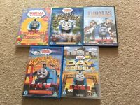 Thomas The Tank Engine DVD's.