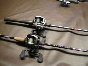 For the fisherman on your Xmas list - 2 Baitcasting combos