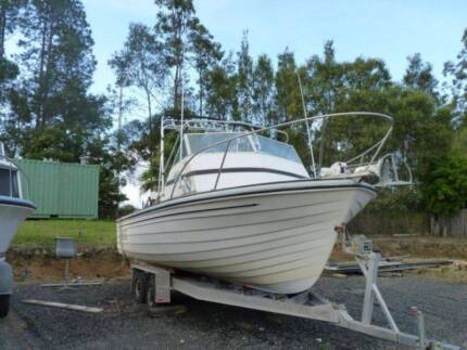20 Ft Stebercraft Offshore Fishing Boat Eli Waters Fraser Coast Preview