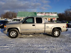 GMC SIERRA Z71 *** FULLY LOADED 4X4 *** CERT *** 100% APPROVED