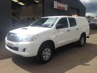 2012 Toyota Hilux 2.5 D4-D HL2 Double Cab 4x4 Diesel Pickup *118k*