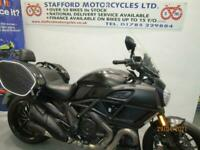 DUCATI DIAVEL. 6175 MILES. STAFFORD MOTORCYCLES LIMITED