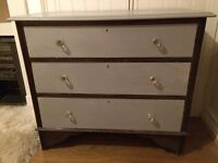 Vintage antique chest of drawers