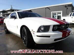 2006 FORD MUSTANG BASE 2D COUPE