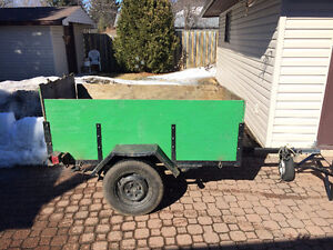 3ft by 6ft Utility Trailer for Sale