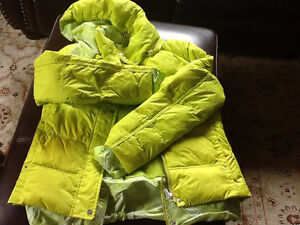 Down girl's winter jacket fit 7 and up
