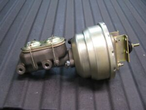 Power Brake Booster and Master Cyl