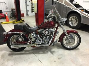 Harley Custom Built.