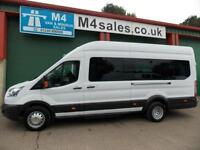 Ford Transit 460 17 Seat 125ps AC PSV TESTED