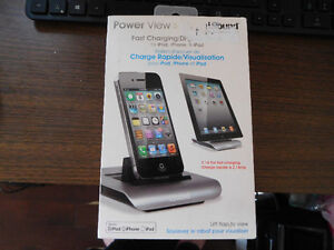 I.SOUND POWER VIEW S, FAST CHARGING/DISPLAY DOCK.
