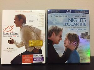 12 Years A Slave(SOLD) & Nights in Rodanthe Blu-Ray