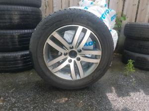 Mags 5x130 avec pneus d hiver