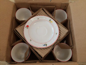 Stoneware Dinner Set for 4 (20pc)– Brand New in Box!