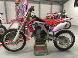 HONDA CRF 450R 2014 MOTOCROSS BIKE - GOOD CONDITION