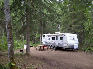 FULLY TREED RIVERSIDE SEASONAL CAMPGROUND Sites, St. Paul, AB