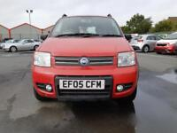 2005 05 FIAT PANDA 1.2 4X4 IN RED.GREAT LOW MILEAGE EXAMPLE.ANY PX WELCOME.2KEYS