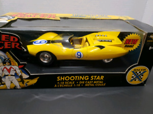 SPEED RACER SHOOTING STAR DIE CAST COLLECTABLE CAR