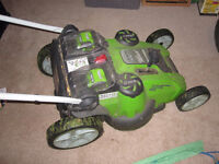 40V Cordless Lawnmower, Almost new!