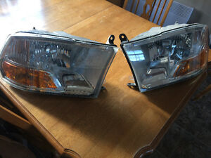 09+ Dodge Ram headlights with leds