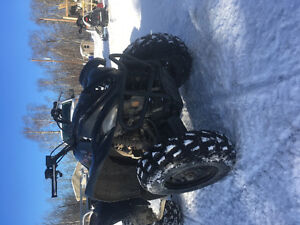 2007 Yamaha wolverine special edition 4x4