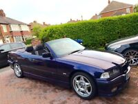 BMW E36 3 series 318i CONVERTIBLE SUMMER CAR BARGAIN