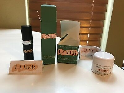 La Mer Travel Set: The Moisturizing Cream .24 oz. and The Lifting Contour Serum